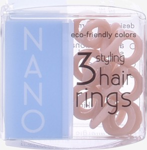 Invisibobble Hair Ring Nano To Be Or Nude To Be 3 sztuki