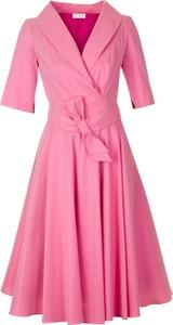 Sukienka Poza z krótkim rękawem mini