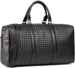 Czarna torba podróżna Gino Rossi ze skóry