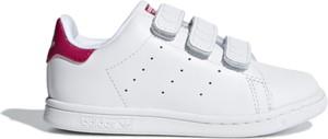 Trampki dziecięce Adidas ze skóry na rzepy