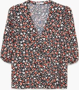 Bluzka Cropp z długim rękawem w stylu casual