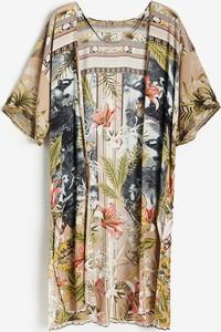 Sukienka Reserved mini z okrągłym dekoltem