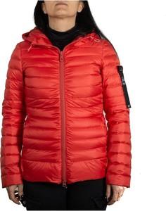 Czerwona kurtka Peuterey w stylu casual z płótna