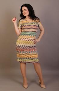 Sukienka Oscar Fashion w stylu casual
