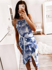 Sukienka Pakuten asymetryczna z bawełny