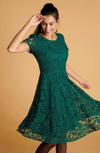 Zielona sukienka Cellbes mini z krótkim rękawem