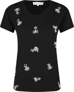 T-shirt Silvian Heach w stylu casual z okrągłym dekoltem