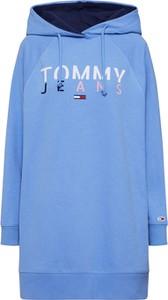 Sukienka Tommy Jeans z długim rękawem w stylu casual mini