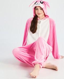 Różowa piżama Sinsay w stylu casual
