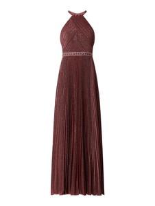 Czerwona sukienka Luxuar maxi bez rękawów