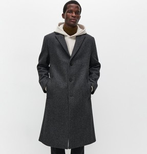 Płaszcz męski Reserved w stylu casual