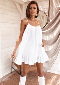 Sukienka Latika mini z bawełny