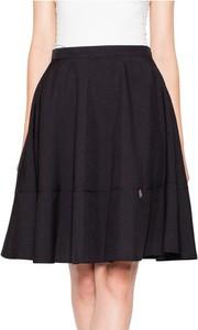 Czarna spódnica Venaton z bawełny midi