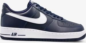 get cheap 11174 b1c75 Niebieskie buty sportowe Nike w młodzieżowym stylu sznurowane