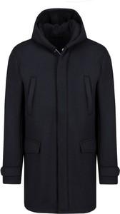 Płaszcz męski Emporio Armani w stylu casual z wełny