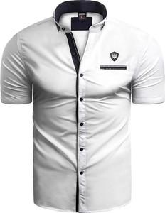 Koszula Risardi z krótkim rękawem z kołnierzykiem button down