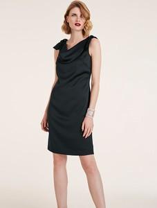 Czarna sukienka Heine
