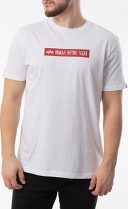 T-shirt Alpha Industries z krótkim rękawem