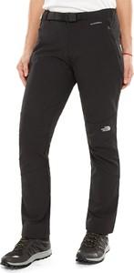Czarne spodnie The North Face w sportowym stylu
