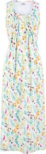 Sukienka bonprix bpc bonprix collection trapezowa z bawełny