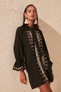 Sukienka Trendyol z długim rękawem mini