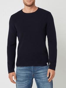Sweter McNeal z bawełny w stylu casual z okrągłym dekoltem