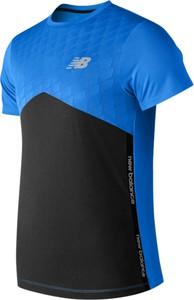 T-shirt New Balance z krótkim rękawem z żakardu