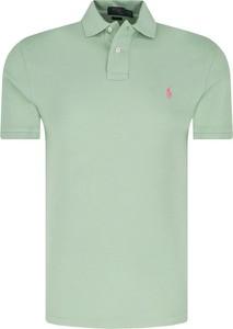 Miętowa koszulka polo POLO RALPH LAUREN