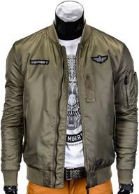 Zielona kurtka ombre clothing