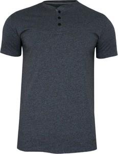 T-shirt Just yuppi z tkaniny z krótkim rękawem