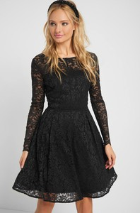 Czarna sukienka ORSAY rozkloszowana mini
