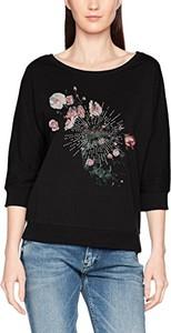 Czarna bluzka q/s designed by - s.oliver