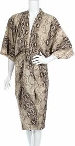 Sukienka Zara Man z długim rękawem w stylu casual z dekoltem w kształcie litery v
