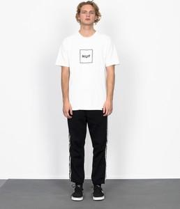 T-shirt HUF z bawełny w młodzieżowym stylu