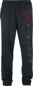 Granatowe spodnie sportowe Vikings z dresówki