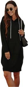 Czarna sukienka Lemoniade z długim rękawem