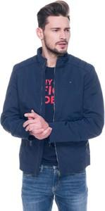 Granatowa kurtka Hilfiger Denim w stylu casual
