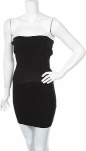 Sukienka Zara Knitwear bez rękawów w stylu casual mini