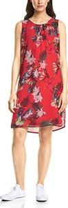 Czerwona sukienka STREET ONE