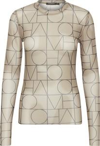 Bluzka Soaked in Luxury z okrągłym dekoltem z długim rękawem