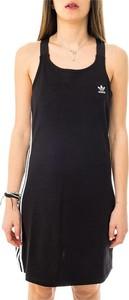 Sukienka Adidas mini z okrągłym dekoltem