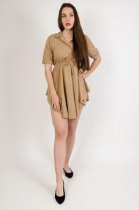 Sukienka Olika z krótkim rękawem szmizjerka