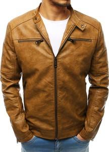 aa4ee3093e80d kurtka skórzana męska stójka - stylowo i modnie z Allani