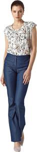 Niebieskie jeansy Colett