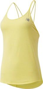 Żółta bluzka New Balance