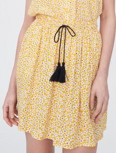 Żółta spódnica Sinsay w stylu casual