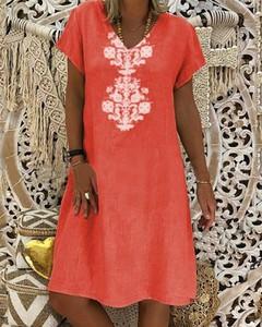 Sukienka Kendallme w stylu casual z bawełny mini