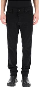 Czarne jeansy Dsquared2 w stylu casual
