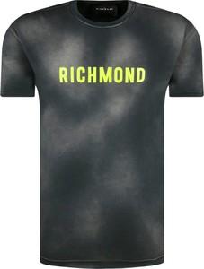T-shirt John Richmond z krótkim rękawem w młodzieżowym stylu