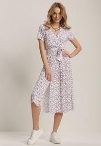 Sukienka Renee z dekoltem w kształcie litery v midi